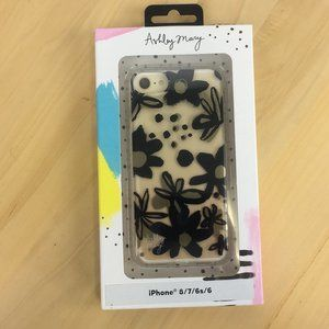 Ashley Mary Floral Iphone Case for 8,7,6S,6   NEW